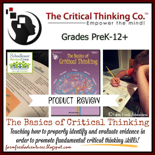 Critical thinking curriculum reviews