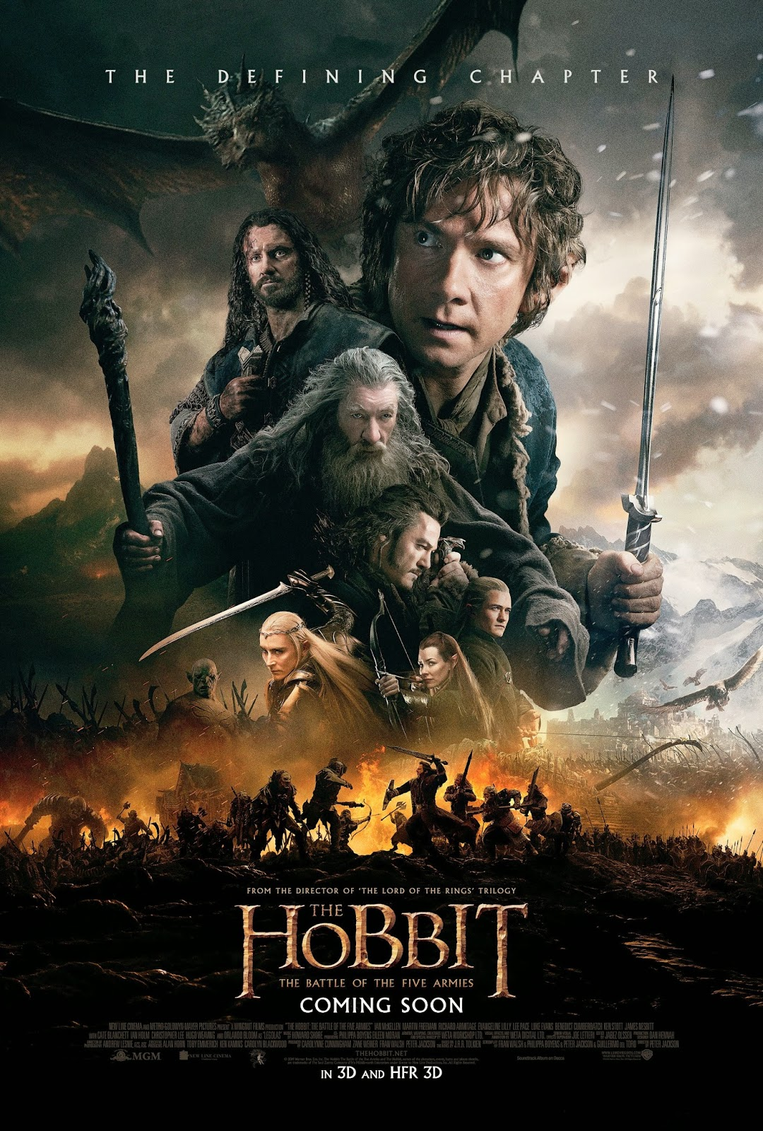 The Hobbit: The Battle of the Five Armies (2014) DVDSCR ταινιες online seires oipeirates greek subs