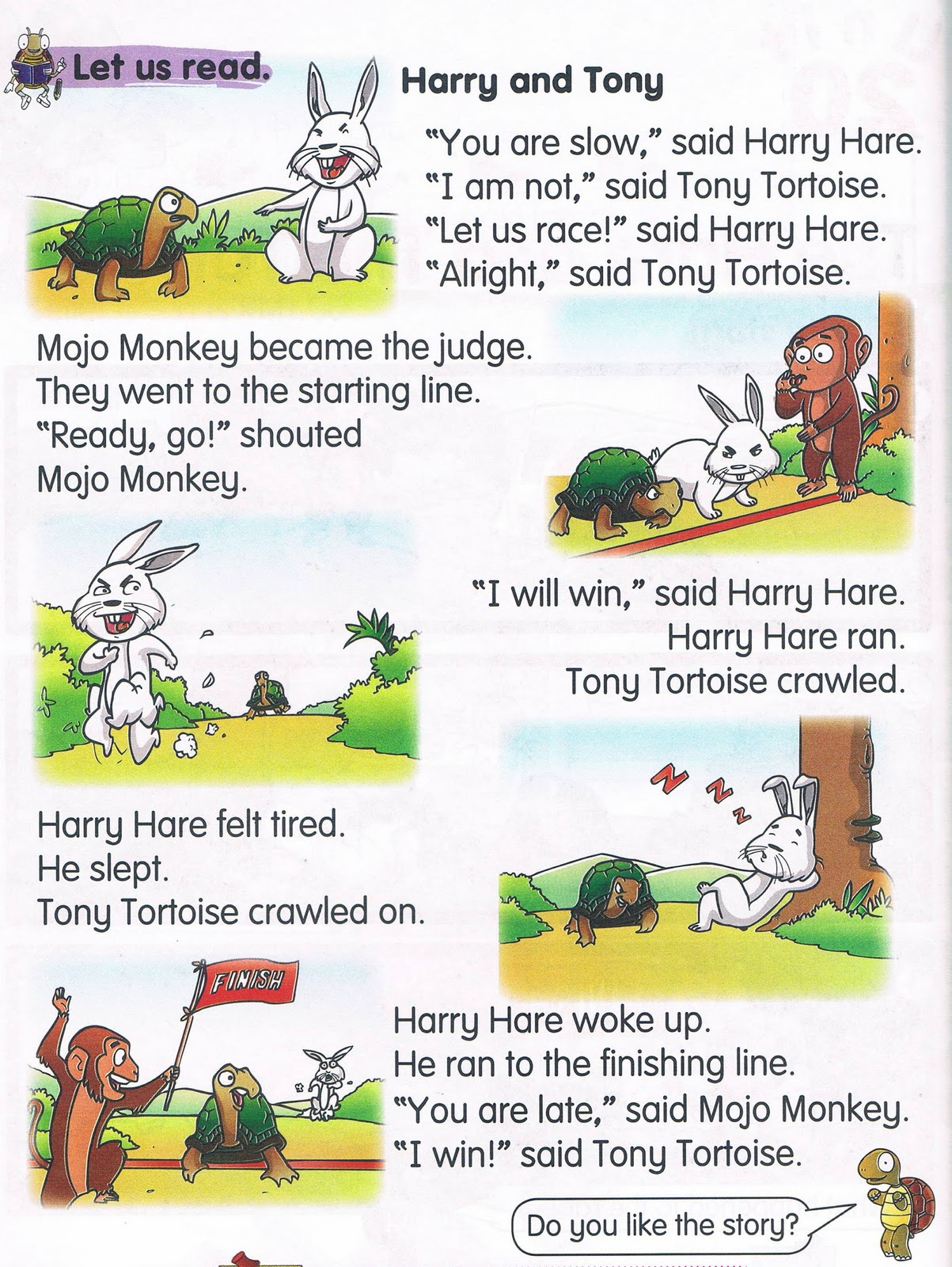 Pdf Story And Tortoise Hare