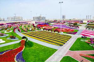 Indahnya Dubai Miracle Garden