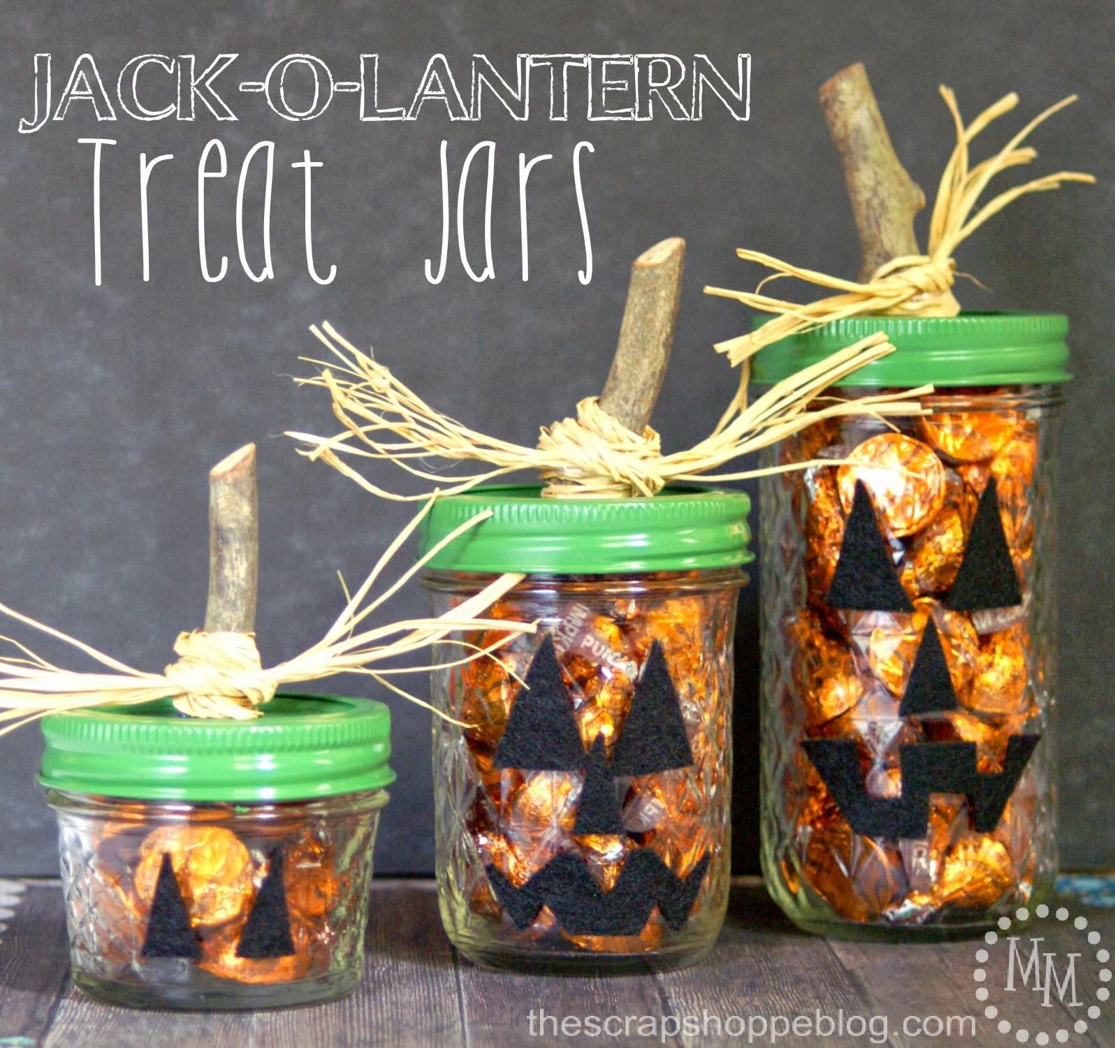 Jack O Lantern Treat Jars