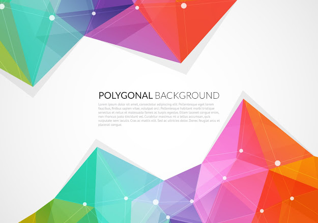 Abstract Colorful Triangle Vector Background Vector Graphic  Position  Decorative Futuristic Decoration