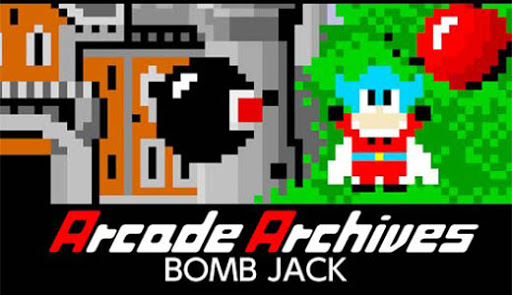 Bomb Jack Arcade Archives Nintendo Switch
