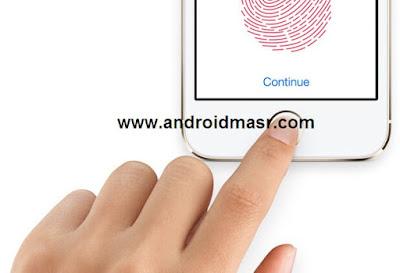 خطوات تشغيل Touch ID