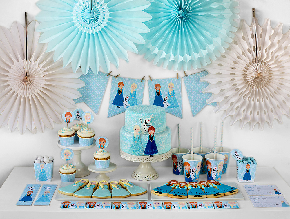 Frozen Birthday Party Free Printable Mini Kit Oh My Fiesta In English