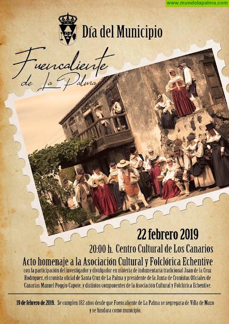 Fuencaliente celebra 182 años desde su fundación como municipio