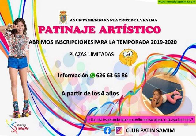El Club Patín Samim abre el plazo de inscripciones para la temporada 2019-2020