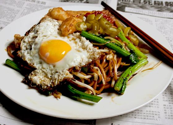 3 Hungry Tummies Economical Fried Noodles Sides 經濟炒麵加料 Malaysian Monday 49