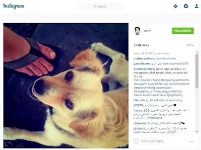 foto pertama diinstagram