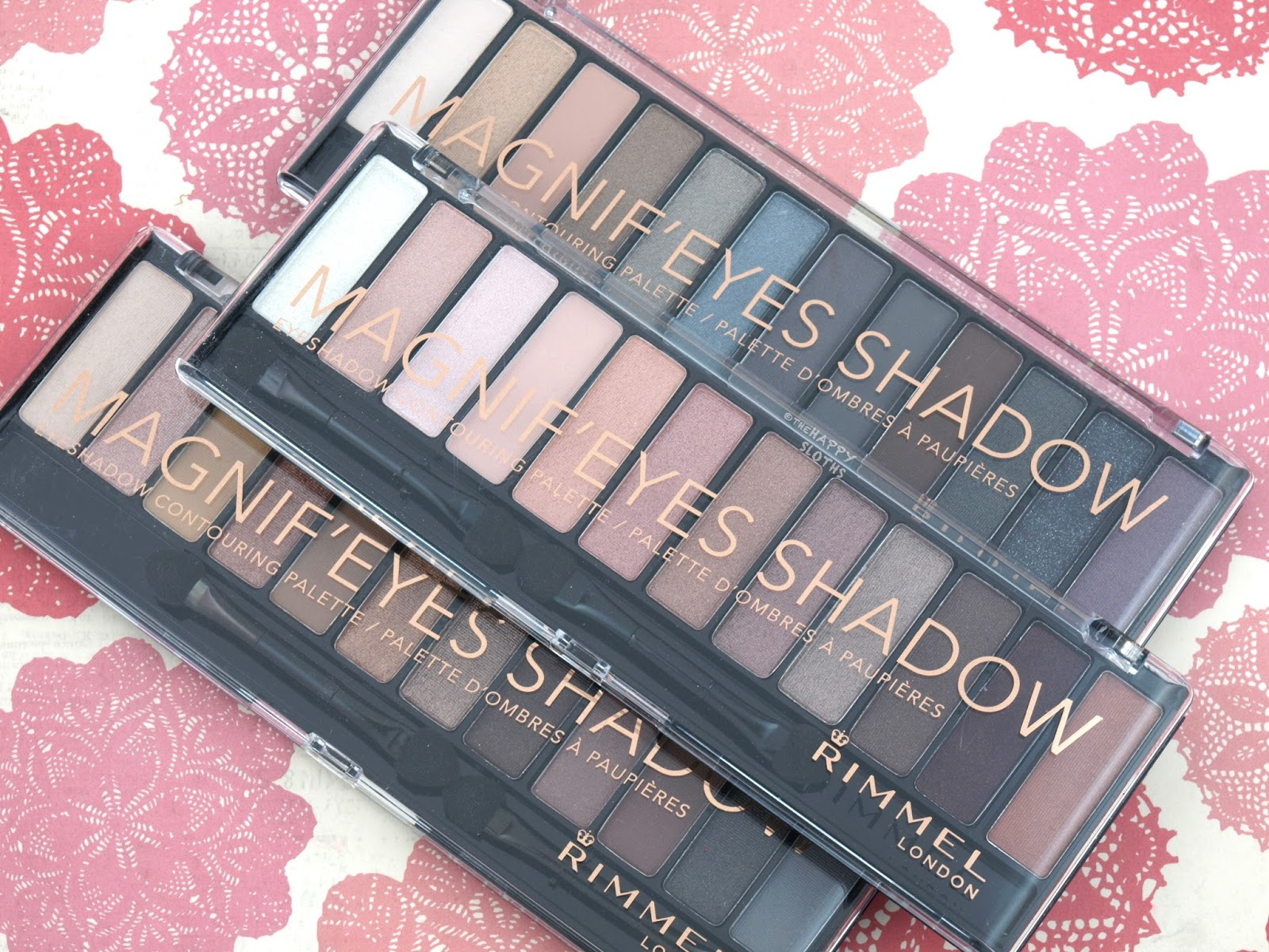 Rimmel London Magnif'eyes Eyeshadow Contouring Palette: Review and Swatches