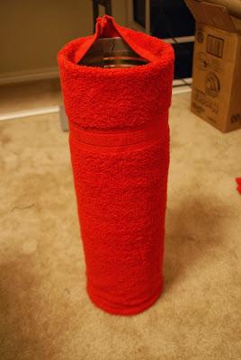 Santa Toilet Paper Holder