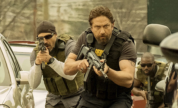 Gerard Butler leads the role as Big Nick in DEN OF THIEVES (2018)