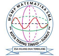 Logo MGMP Matematika Tebing Tinggi Periode 2017-2021