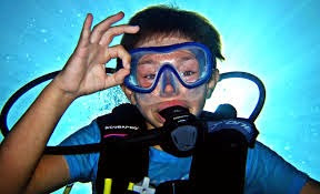 Phuket is the perfect place for children to learn to dive.