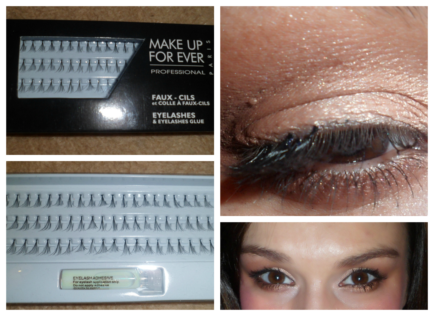 480ea59bfc8 The kit comes with a lash glue and 3 rows of black medium flare lashes. All the  lashes are knotted, which can be covered up easily with eyeliner.