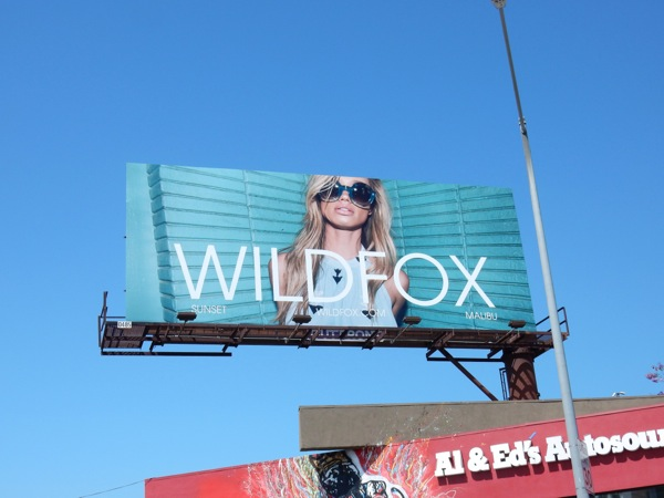Wildfox Summer 2016 fashion billboard