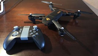 Spesifikasi Drone Visuo XS809C dan XS809W - OmahDrones