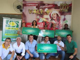 ACEJA ENTREGA PRÊMIOS DA CAMPANHA DE NATAL