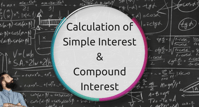 Calculation of Simple Interest and Compound Interest for JAIIB