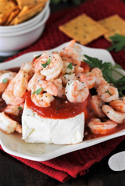 Super Easy Shrimp & Cream Cheese Appetizer photo