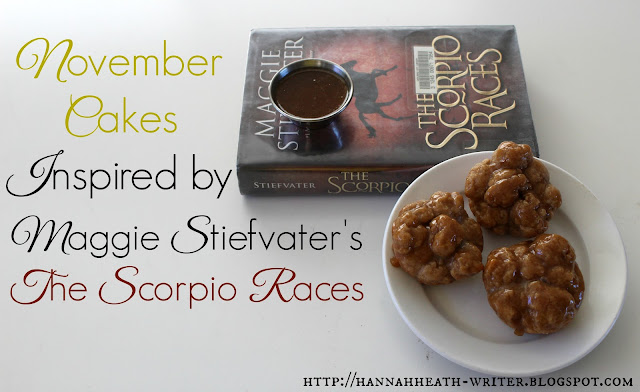 November Cakes Inspired by Maggie Stiefvater's The Scorpio Races