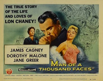 Cartel de Man of a Thousand Faces (El hombre de las mil caras)