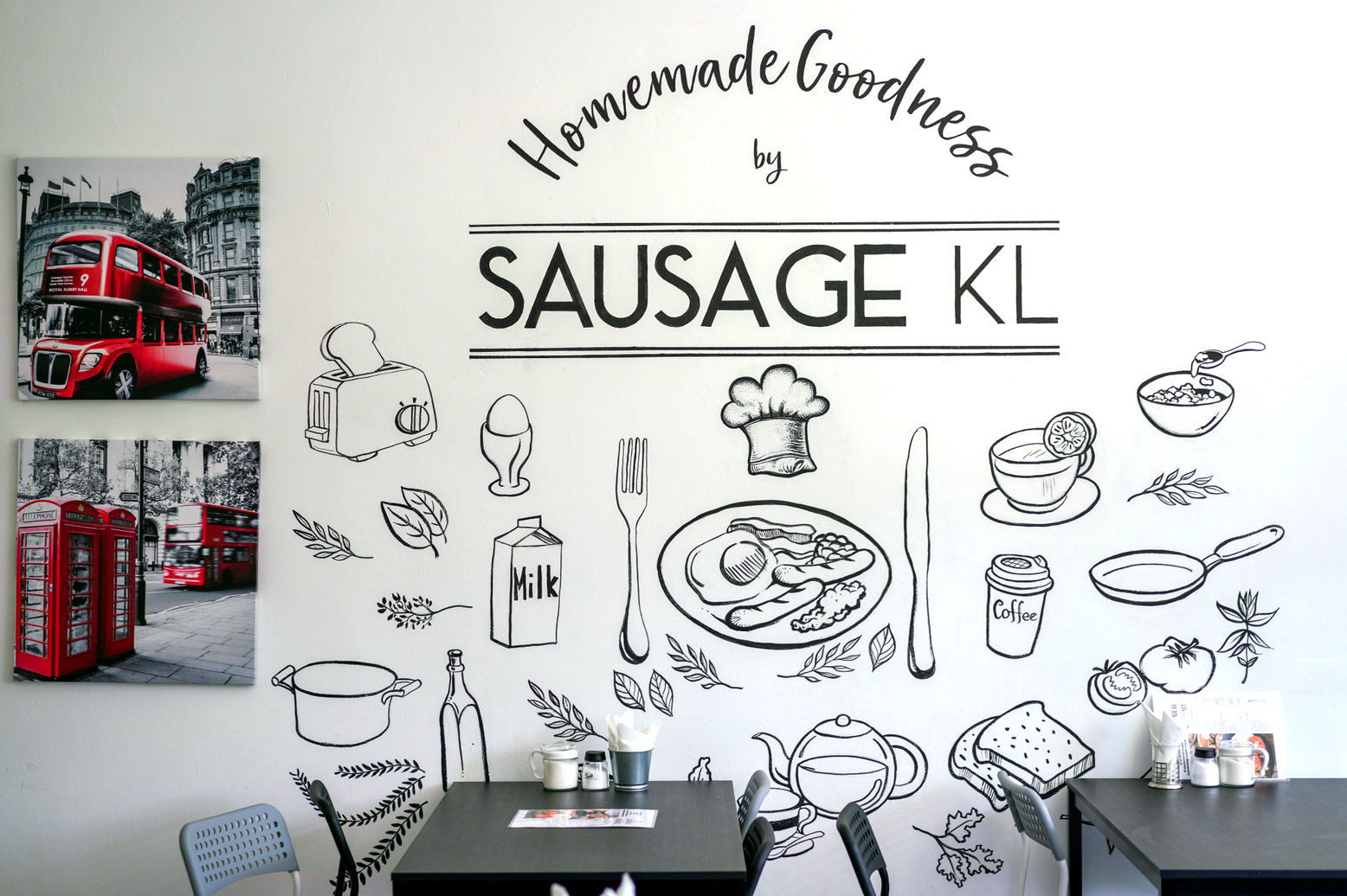 sausage kl, holiday place, ampang road