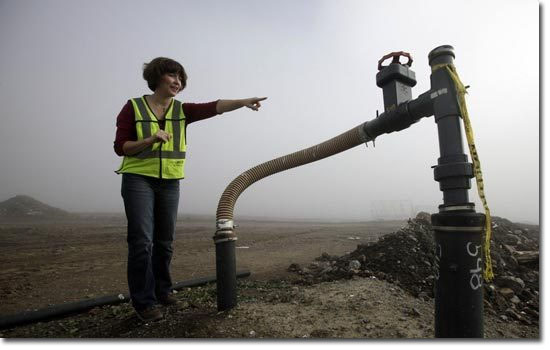 Trabalhos bizarros que pagam muito bem - Extrator de gases de aterros sanitários