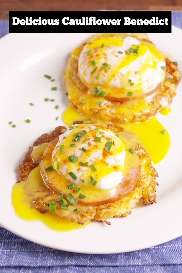 Delicious Cauliflower Benedict Recipe | Breakfast Recipe | Delicious Breakfast Recipe | Cauliflower Recipe | Benedict Recipe #breakfast #delicious #breakfastrecipe #benedict #cauliflower