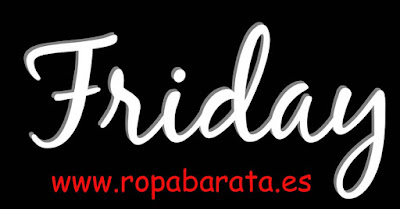 Black Friday en ropa barata