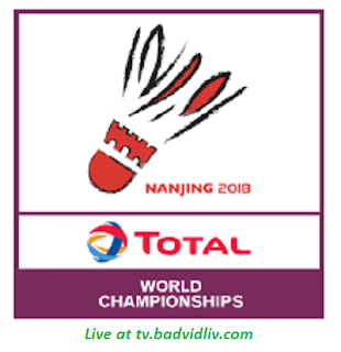 BWF World Championships 2018 live streaming