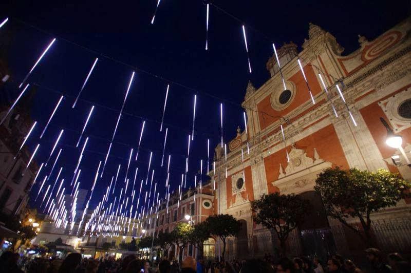 Geln Noticias Inaugurada la iluminacin navideo en