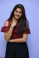 Pavani Gangireddy in Cute Black Skirt Maroon Top at 9 Movie Teaser Launch 5th May 2017  Exclusive 051.JPG