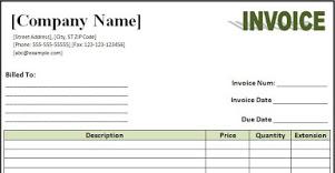 invoice-請款單 | 經理人
