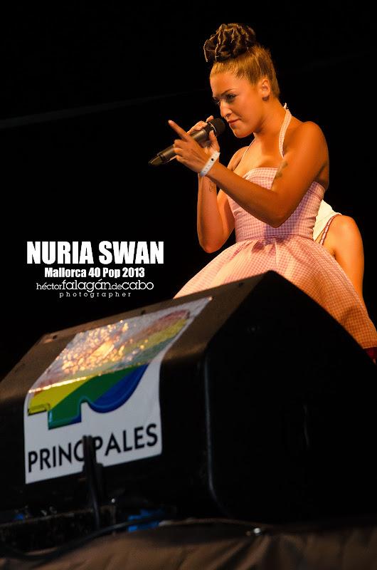 Nuria Swan en el Mallorca 40 Pop 2013. Héctor Falagán De Cabo | hfilms & photography.
