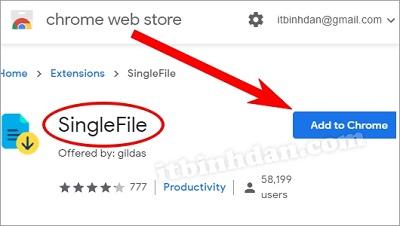 Lưu Trang Web thành Một File  HTML Duy Nhất