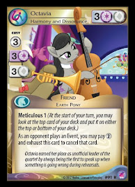 My Little Pony Octavia, Harmony and Dissonance Seaquestria and Beyond CCG Card