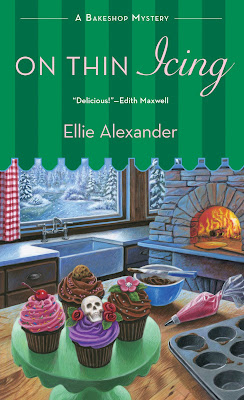 Excerpt, Giveaway, Review, On Thin Icing, Ellie Alexander, Bea's Book Nook