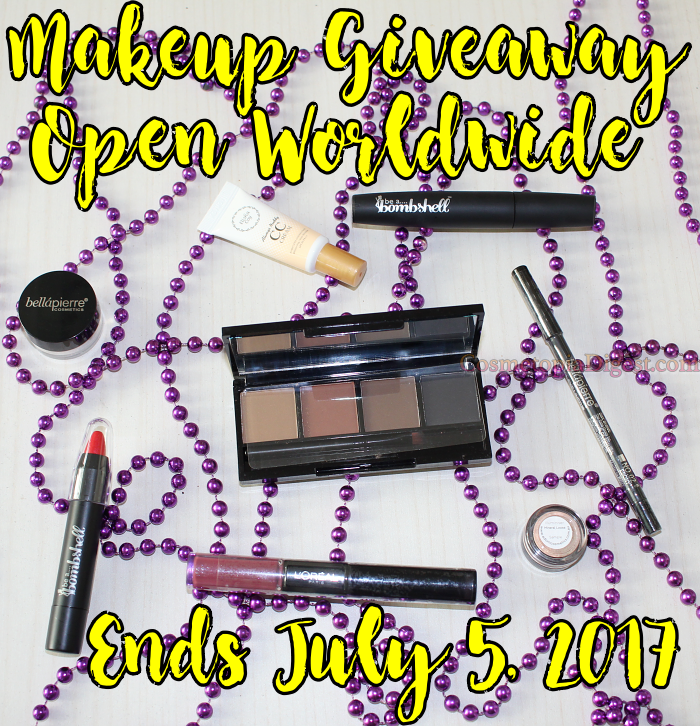 Mid-Year Makeup Giveaway 2017, Open Worldwide