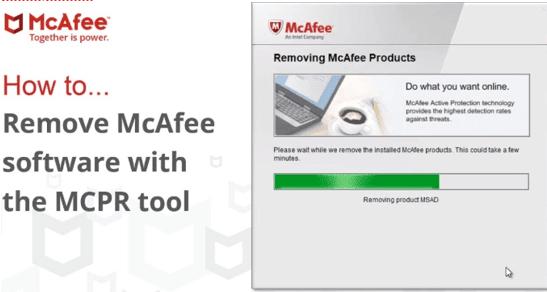 Delete McAfee 2