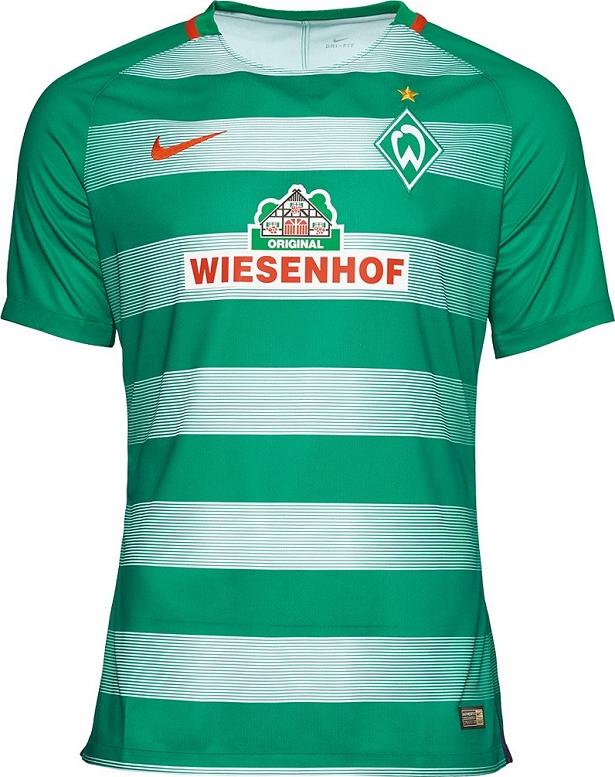 de5b2bd2aa Nike apresenta novas camisas do Werder Bremen - Show de Camisas