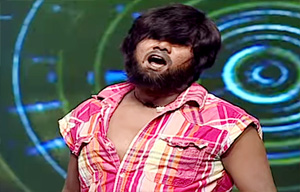 Gokul's team member, Yuvaraj, enact like T. Rajendar who has made a mark in the industry