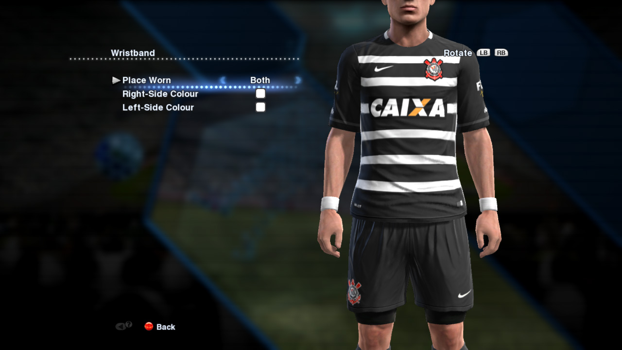 novo uniforme do corinthians para pes 2013