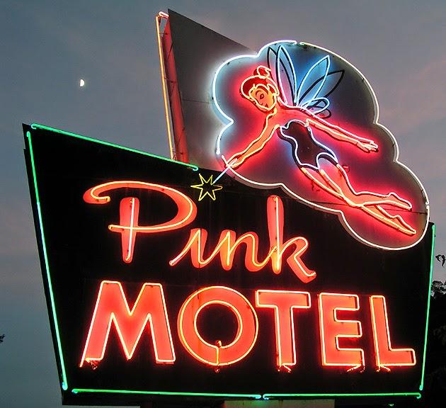 Cherokee, NC Vintage Motel Signs