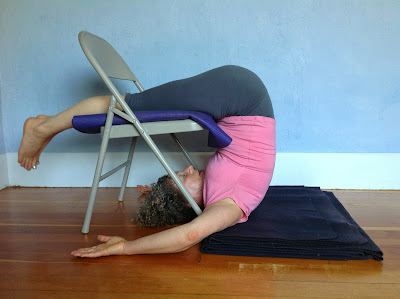 featured pose supported plow pose arda halasana yoga