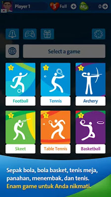 Download Game Olimpiade Rio 2016 APK Terbaru