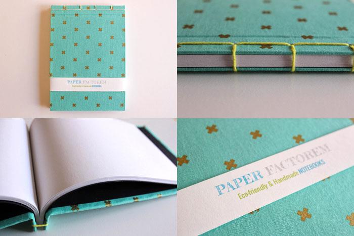 Sorteo de un cuaderno ecológico hecho a mano en españa Paper factorem