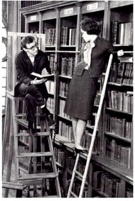 Woody Allen e Romy Schneider in Ciao Pussycat 1964