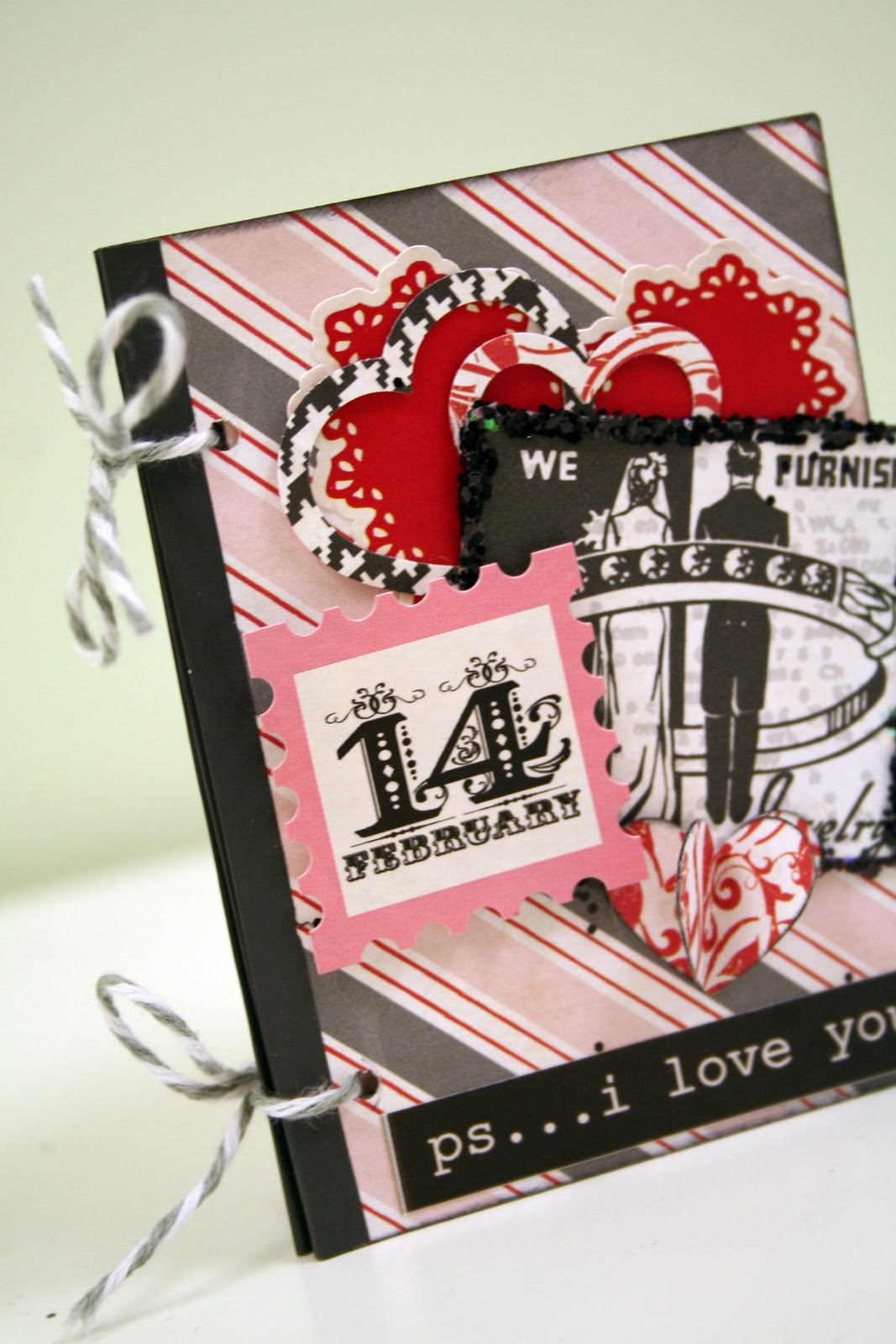 Oh My Crafts Blog Valentines Mini Book