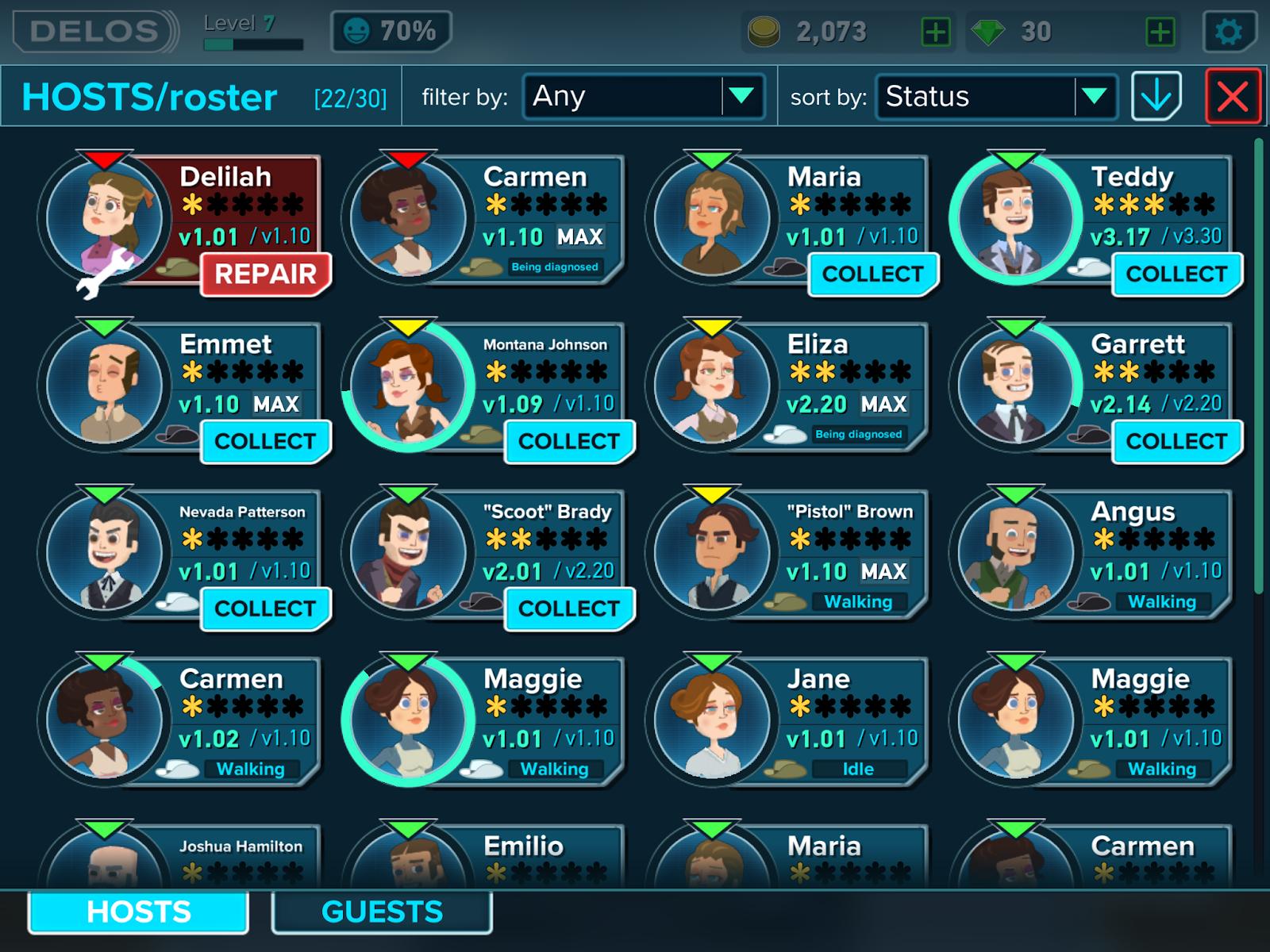 WestWorld para Android y iOS